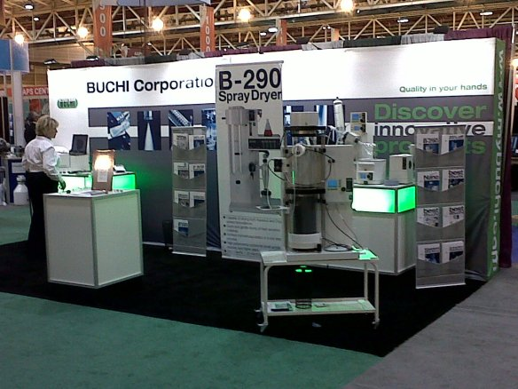 BUCHI's AAPS Booth 619 in New Orleans