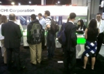 Visitors to Buchi 2011 Pittcon Booth