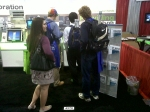 Student Visitors to Buchi Pittcon Booth